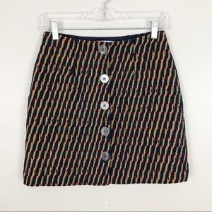& Other Stories Button Front Knit Mini Skirt 2